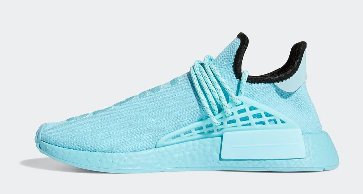 Pharrell Adidas NMD Hu 'Aqua' GY0094 Medial