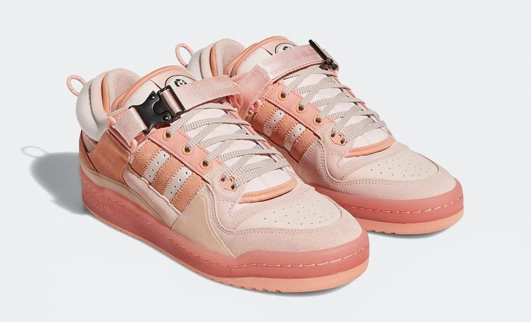 Bad Bunny x Adidas Forum Buckle Low Pink GW0265 Pair