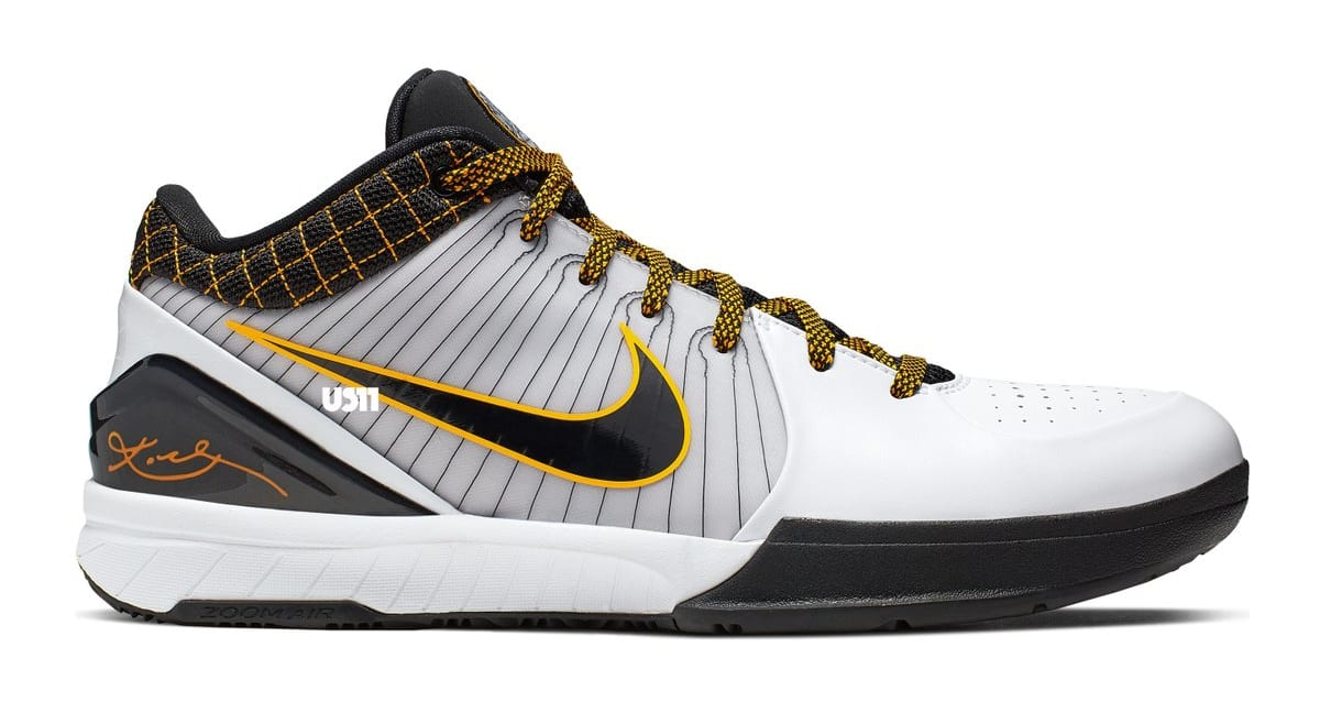 Nike Zoom Kobe 4 Protro 'Del Sol POP' (Lateral)