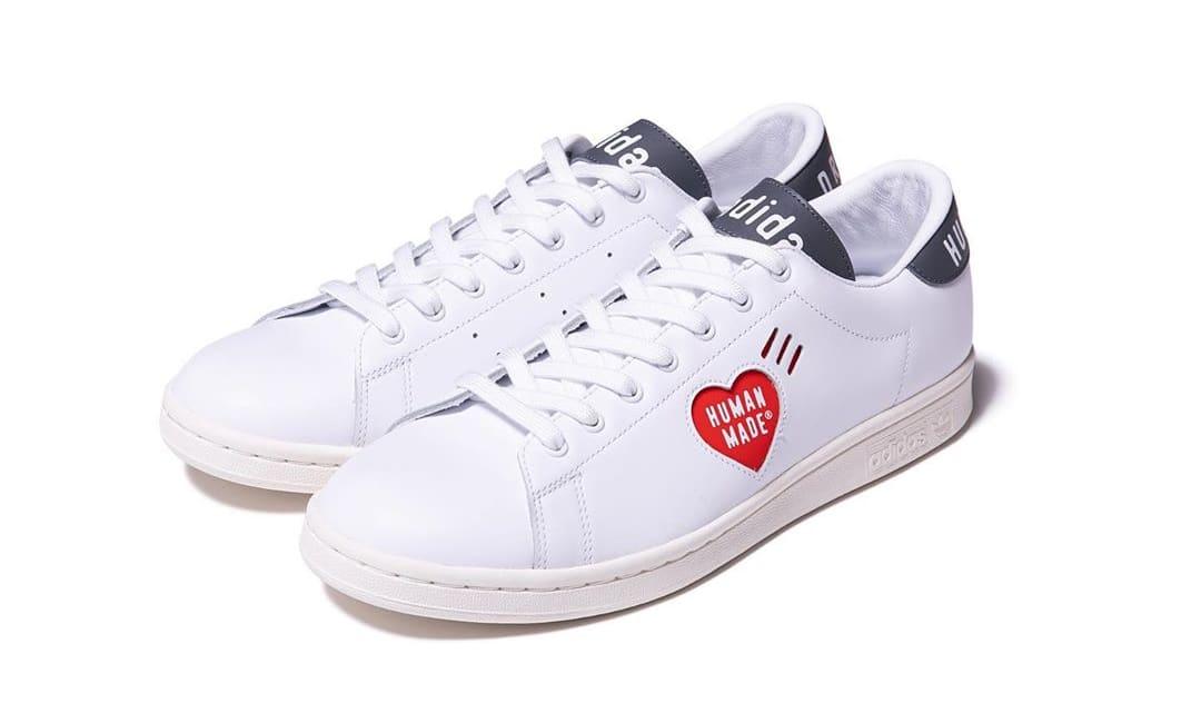 Human Made x Adidas Stan Smith 'White/Grey' Pair