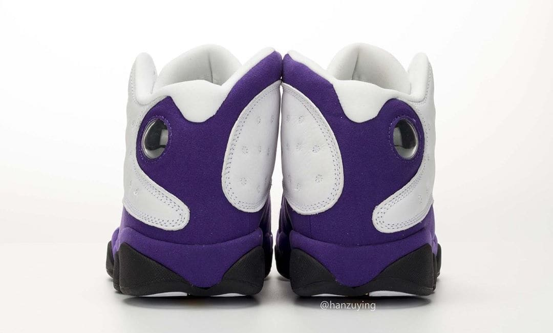 Air Jordan 13 'Lakers' 414571-105 (Heel)