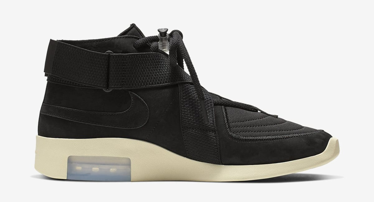 Nike Air Fear of God 180 'Black/Black-Fossil' (Medial)