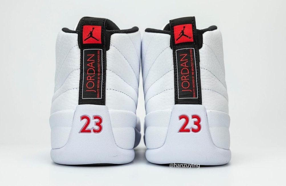 Air Jordan 12 Retro 'Twist' CT8013-106 Heel