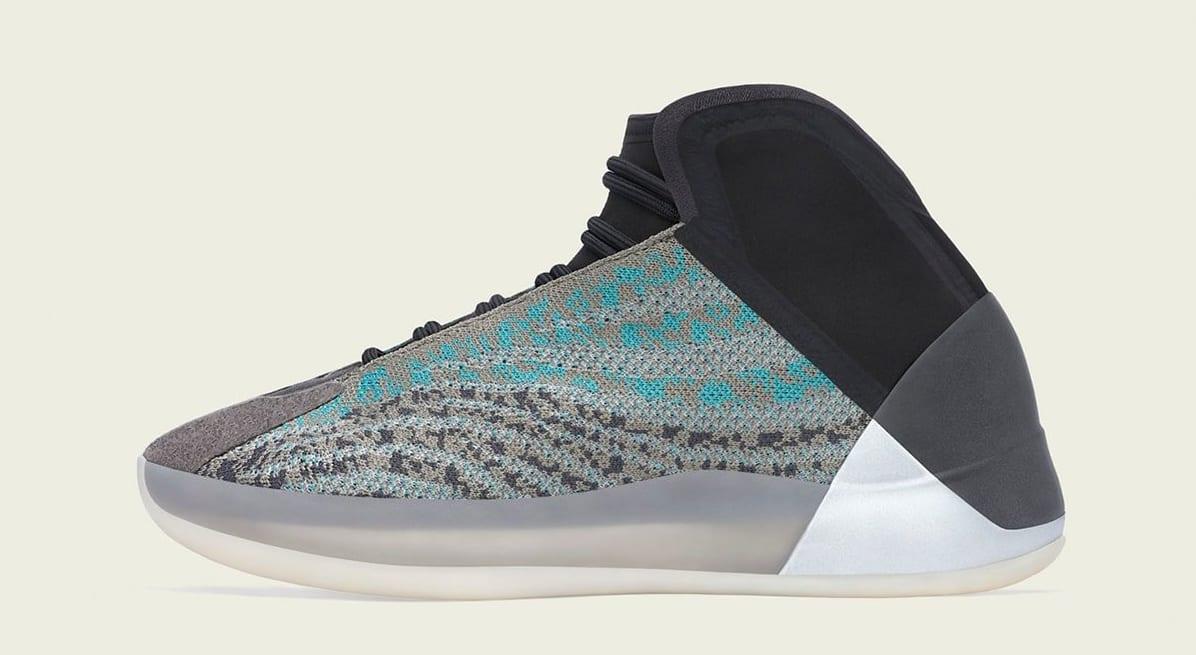 Adidas Yeezy QNTM 'Teal Blue' G58864 Medial