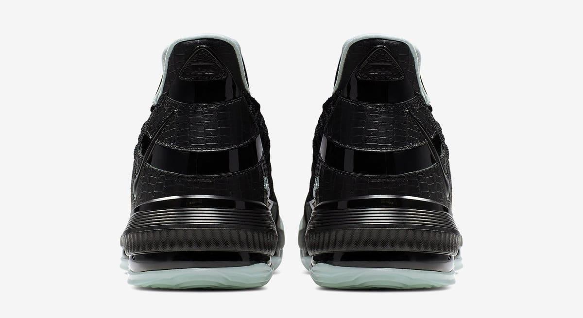 Nike LeBron 16 SB 'Black/Glow' (Heel)