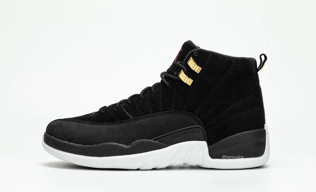 new styles 30443 852eb Air Jordan 12 Retro 'Black/White/Taxi/Black' 130690-017 ...