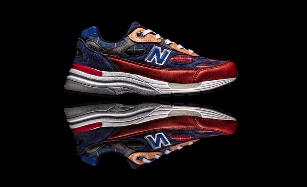 New Balance 992 Concepts Exclusive (Plaid)