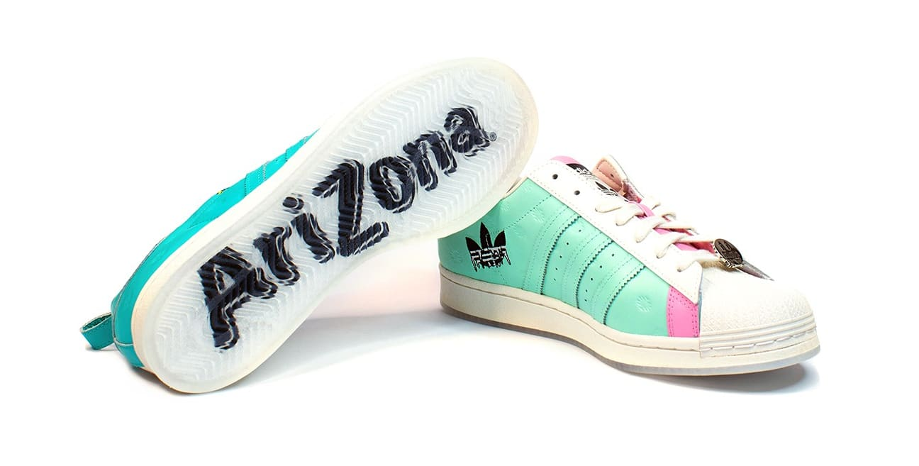 Arizona Iced Tea x Adidas Superstar Pair