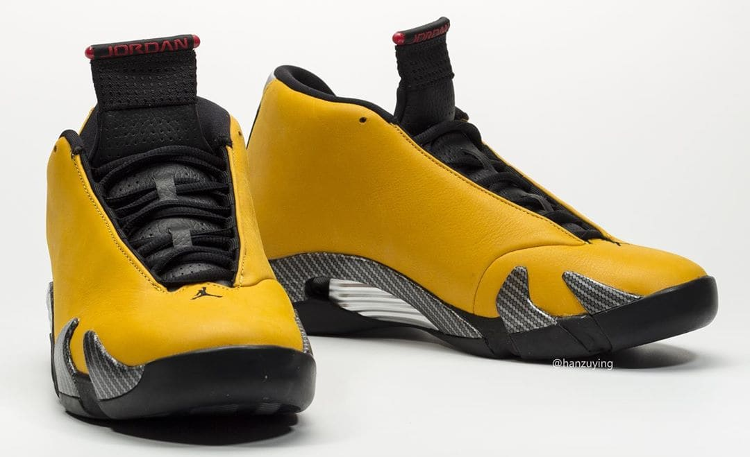 Air Jordan 14 Retro 'Yellow Ferrari' BQ3685-706 Front