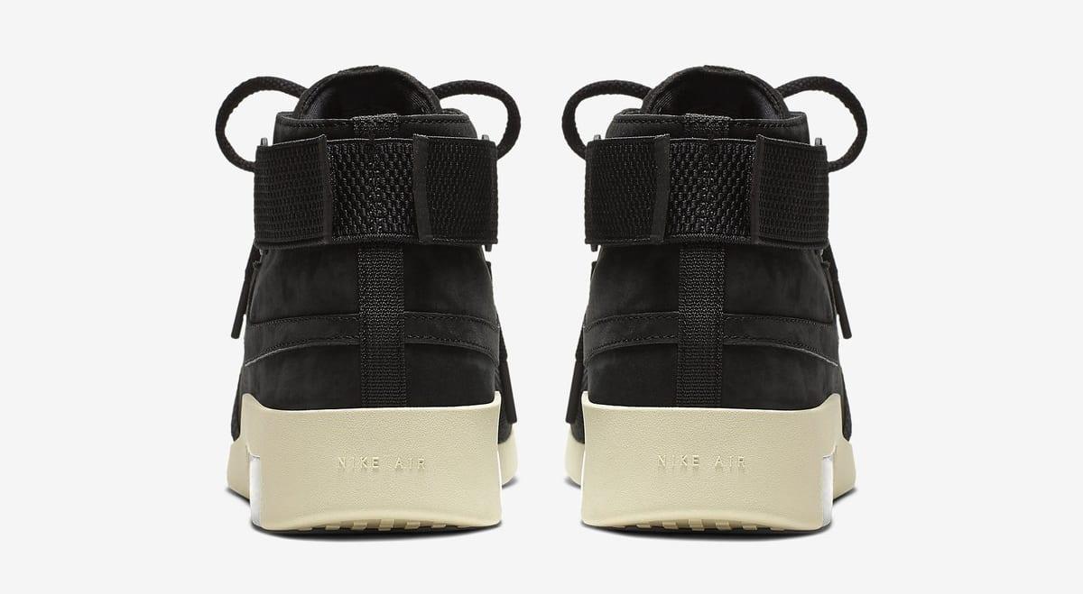 Nike Air Fear of God 180 'Black/Black-Fossil' (Heel)