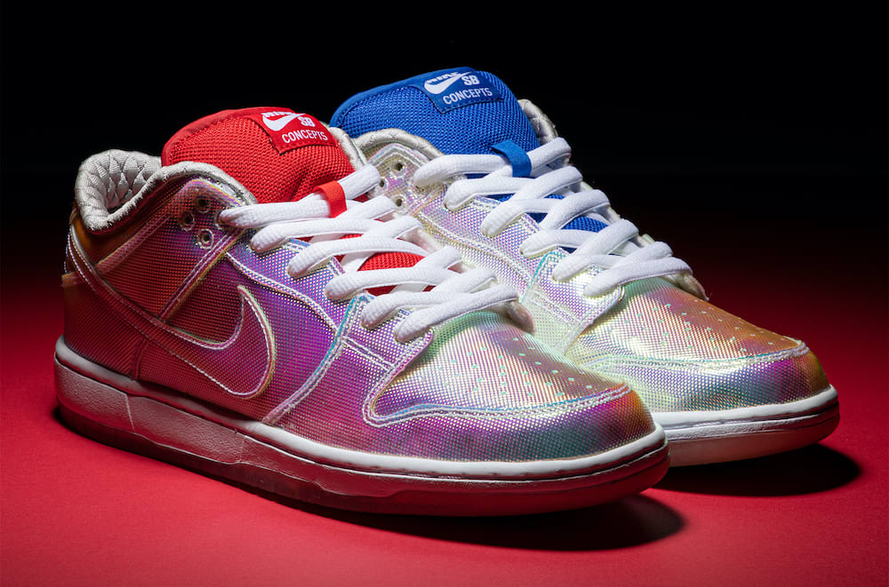 Concepts x Nike SB Dunk Low 'Holy Grail' Pair