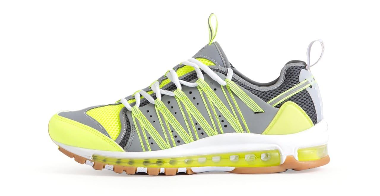 Clot x Nike Zoom Haven 97 'Volt/Dark Grey/Pure Platinum' (Lateral)