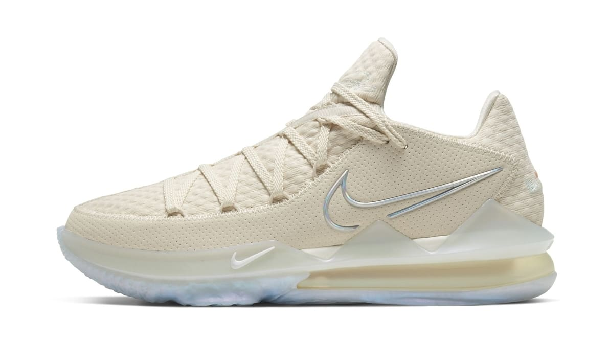 Nike LeBron 17 Low 'Bone' CD5007-200 Lateral