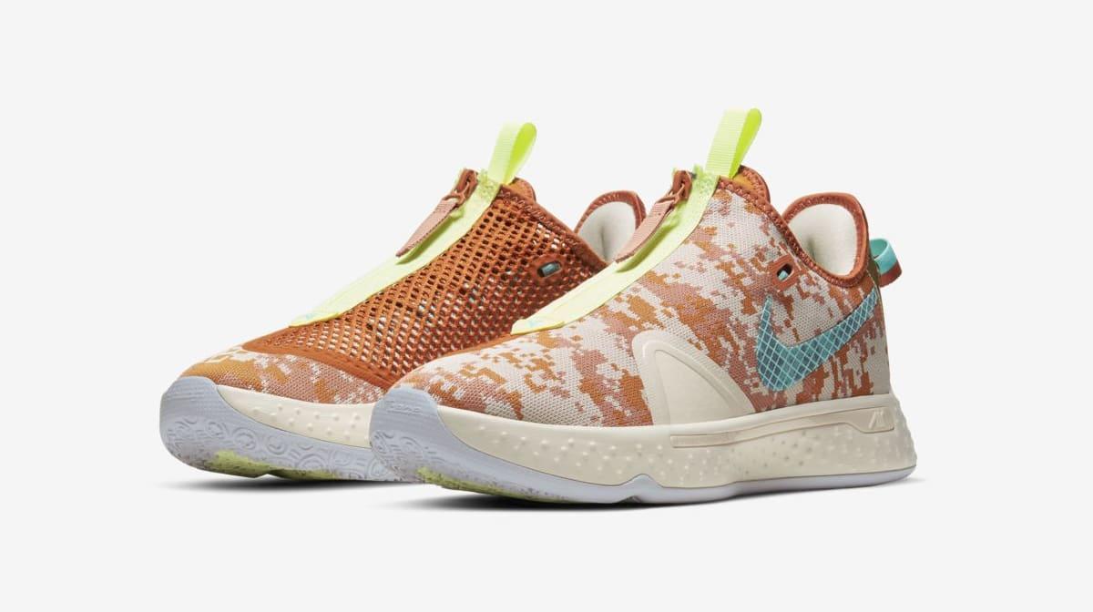 Nike PG 4 GE 'Digi-Camo' Pair