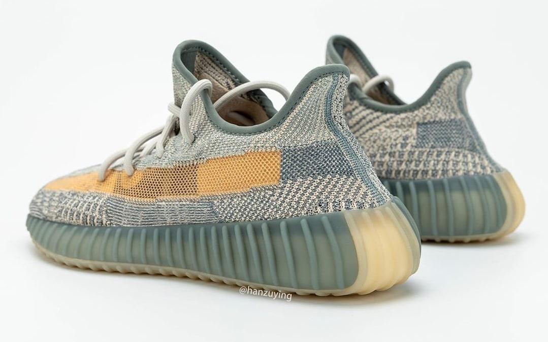 Adidas Yeezy Boost 350 V2 'Israfil' FZ5421 Heel