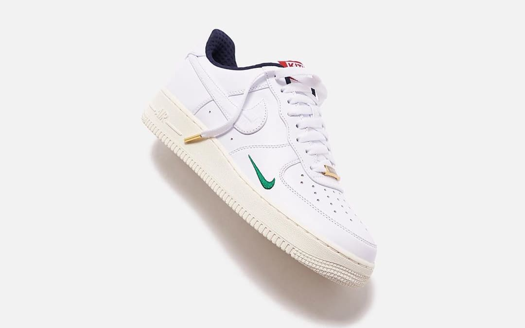Kith x Nike Air Force 1 Low 'Friends-and-Family' Side