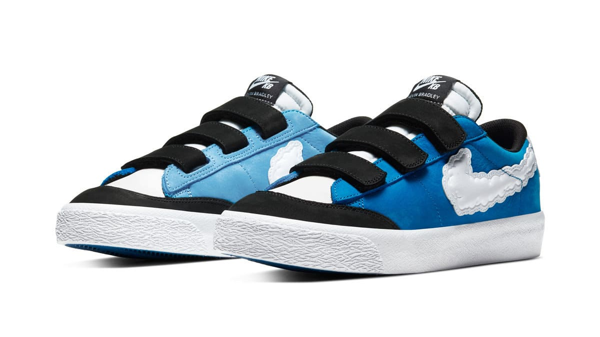 Kevin Bradley x Nike SB Blazer Low 'Kevin and Hell' Pair