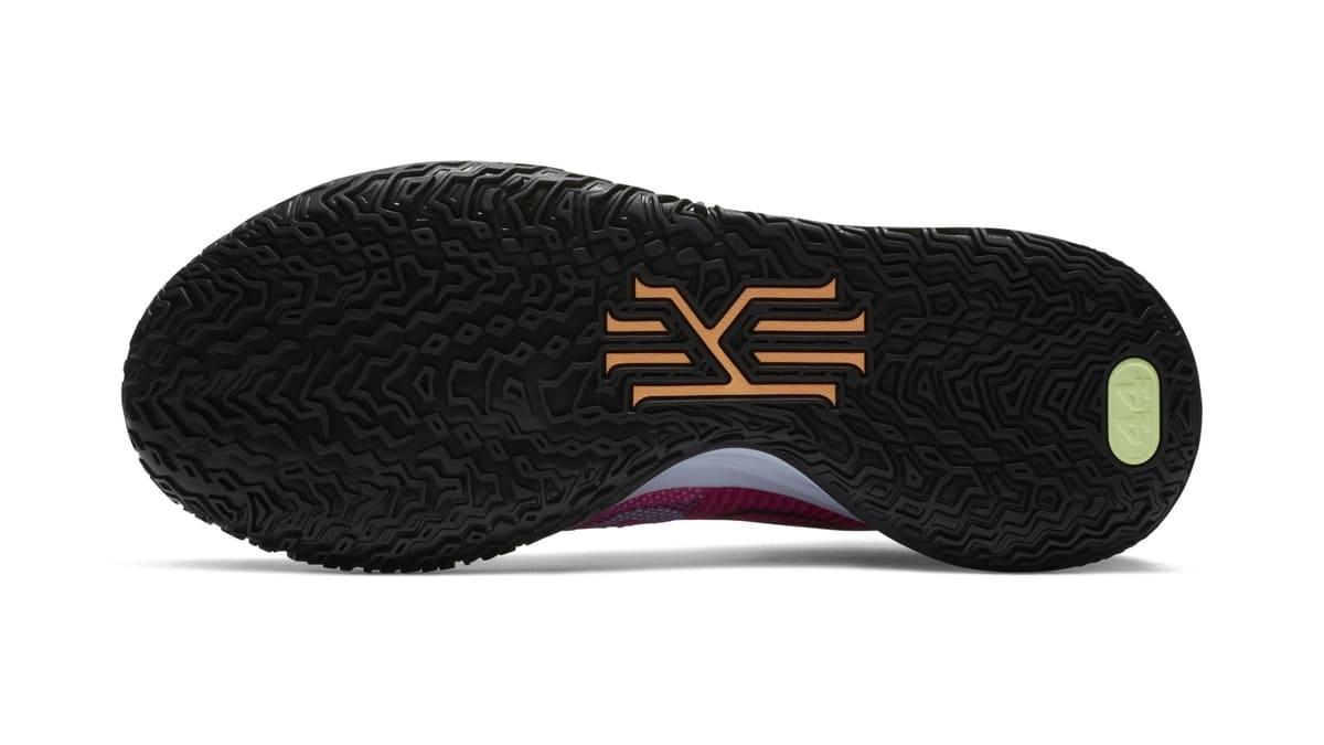 Nike Kyrie 7 Active Fuchsia/Black-Ghost-Multi-Color 'Hendrix' DC0588-601 Outsole