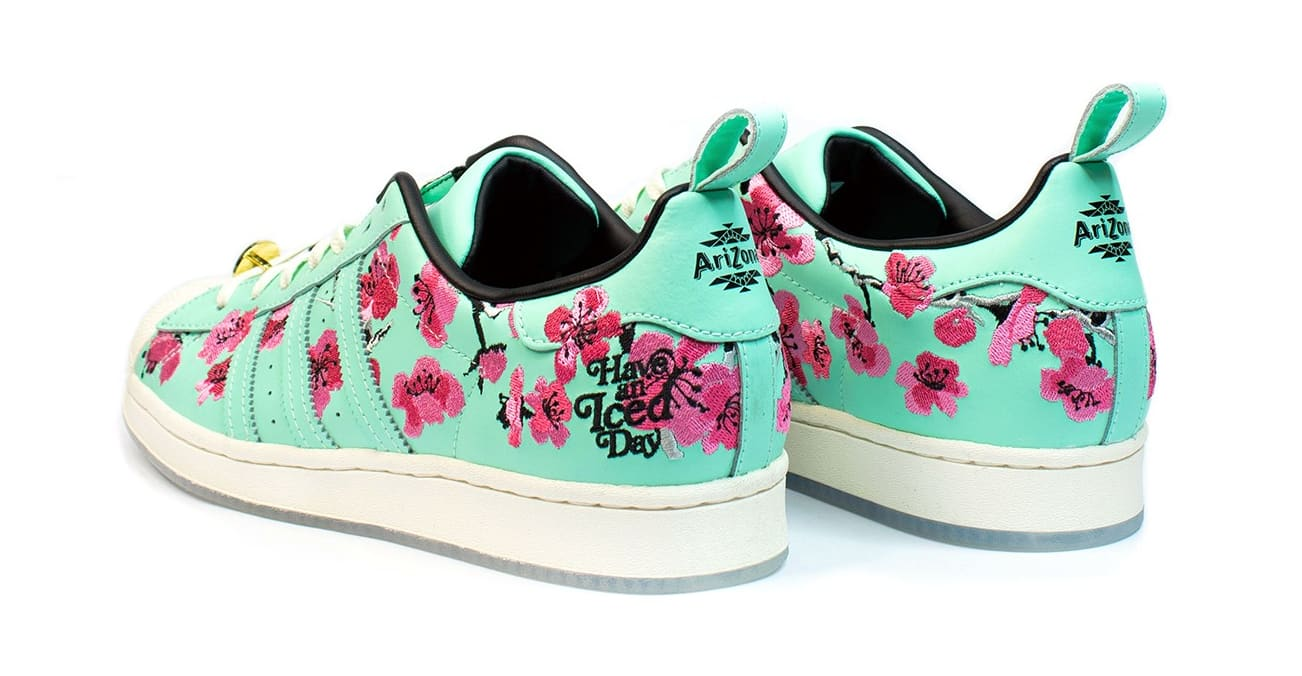 Arizona Iced Tea x Adidas Superstar Heel