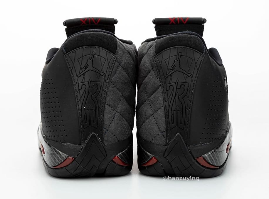 air-jordan-14-xiv-retro-black-ferrari-bq3685-001-heel