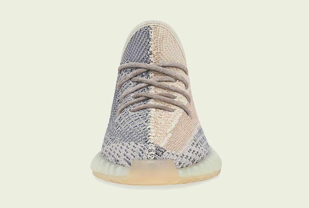 Adidas Yeezy Boost 350 V2 'Ash Pearl' GY7658 Front