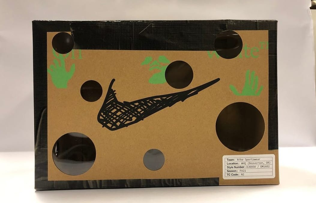 Off-White x Nike Dunk Low 'Dear Summer' Box