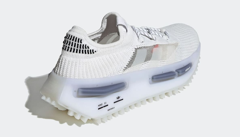 Adidas NMD_S1 White GZ7900 (Heel)