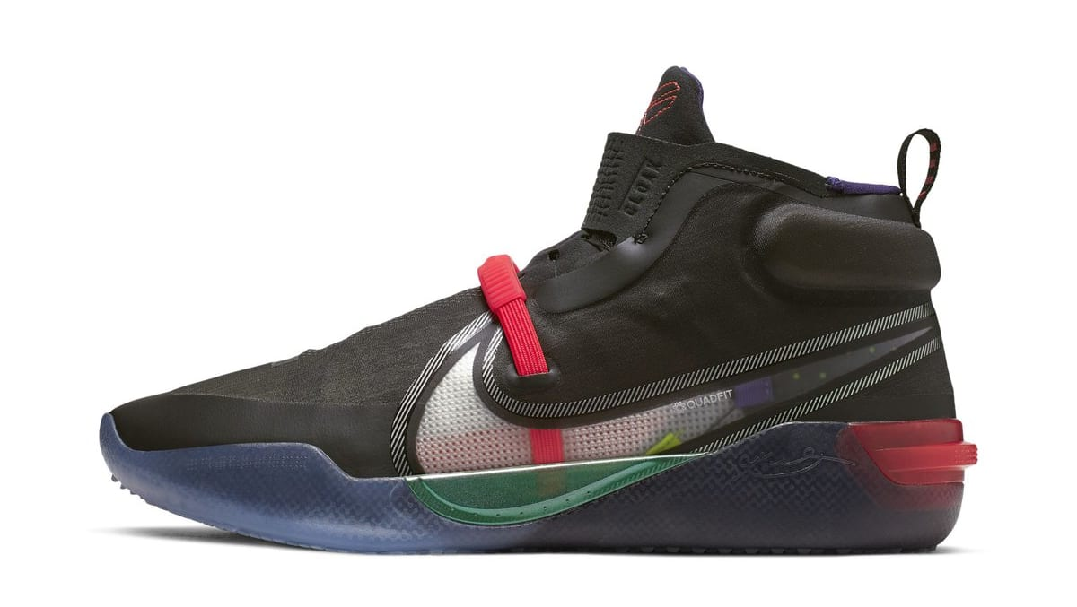 Nike Kobe AD NXT FastFit 'Black' (Lateral)