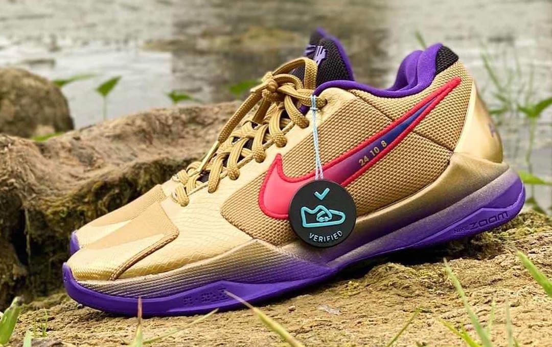Undefeated x Nike Kobe 5 Protro 'HOF' DA6809-700 Lateral