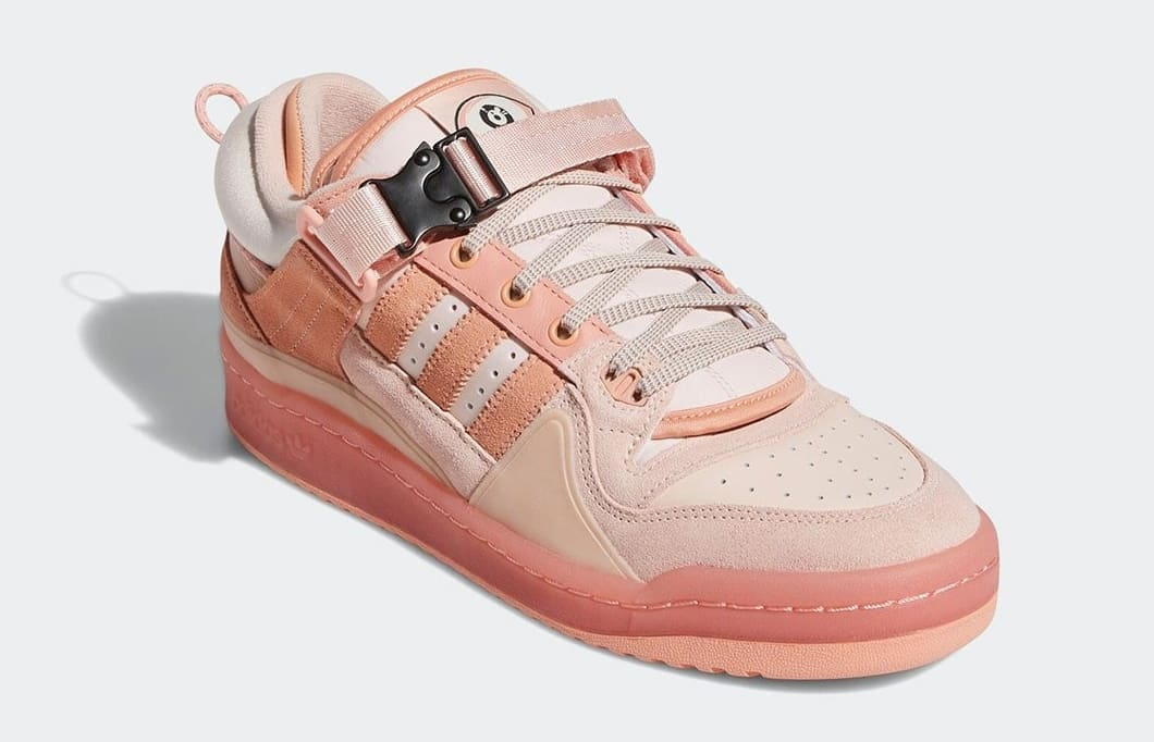 Bad Bunny x Adidas Forum Buckle Low Pink GW0265 Front