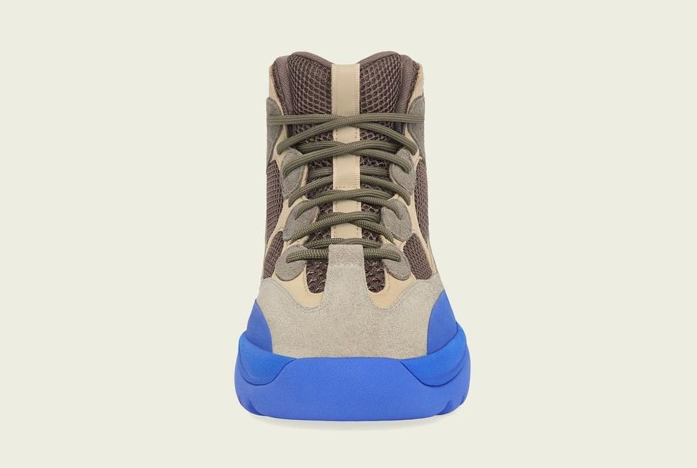 Adidas Yeezy Desert Boot 'Taupe Blue' Front