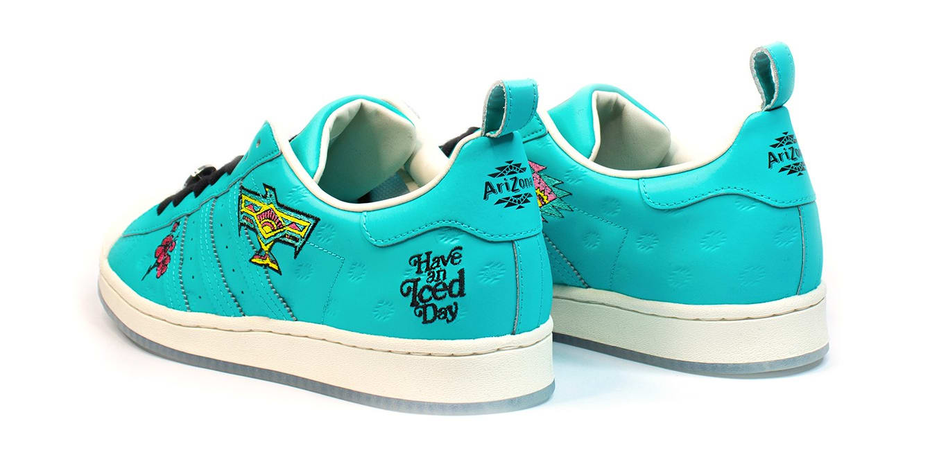 Arizona Iced Tea x Adidas Superstar Heel