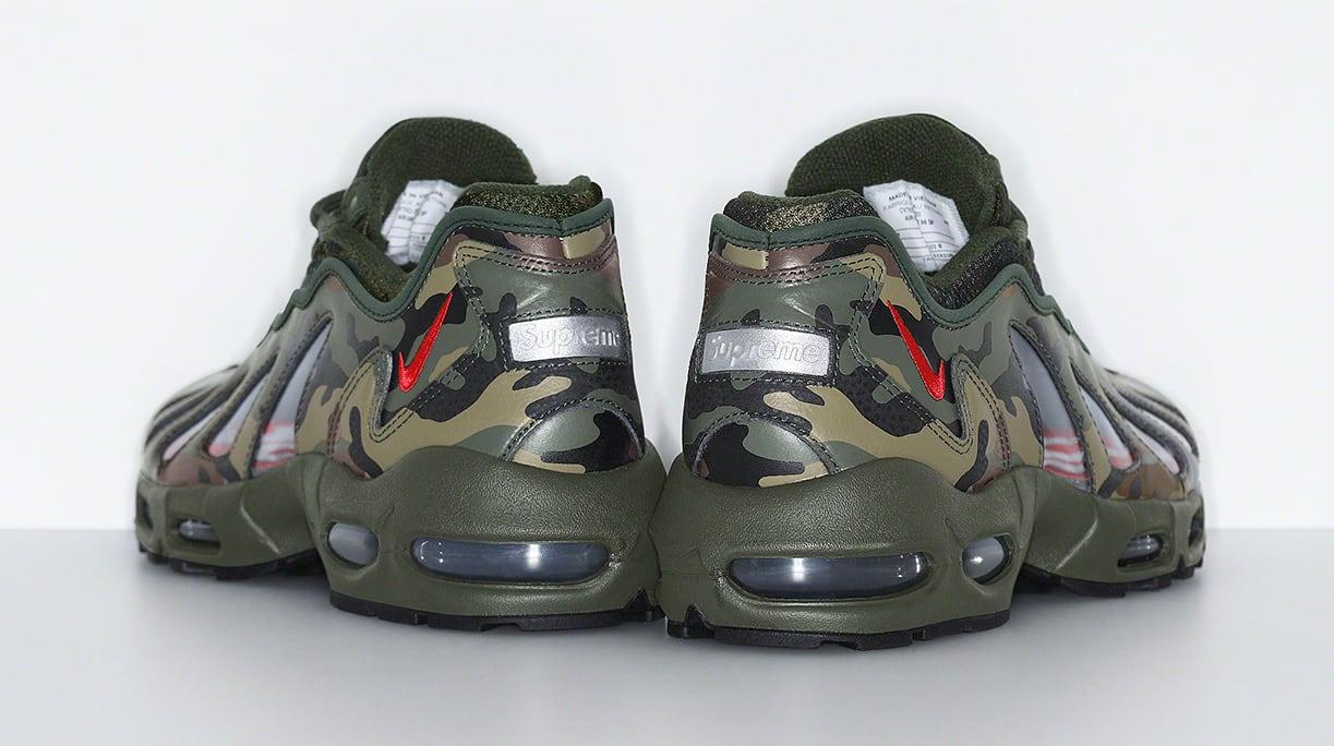Supreme x Nike Air Max 96 'Camo' Heel