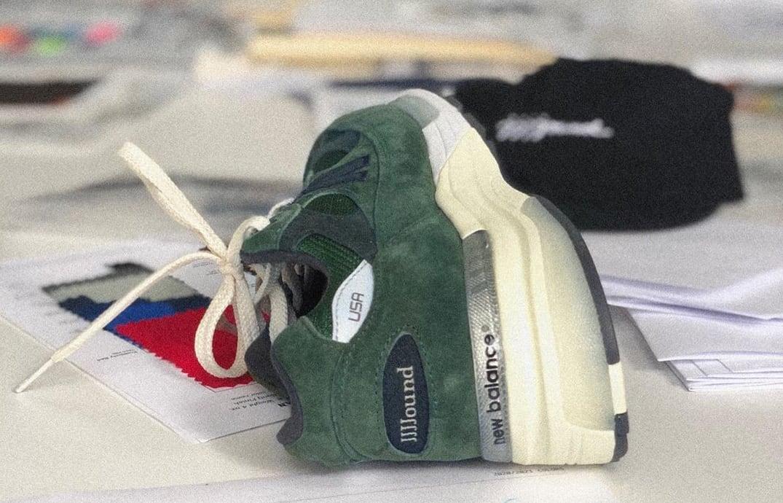 JJJJound x New Balance 992 'Green' Heel