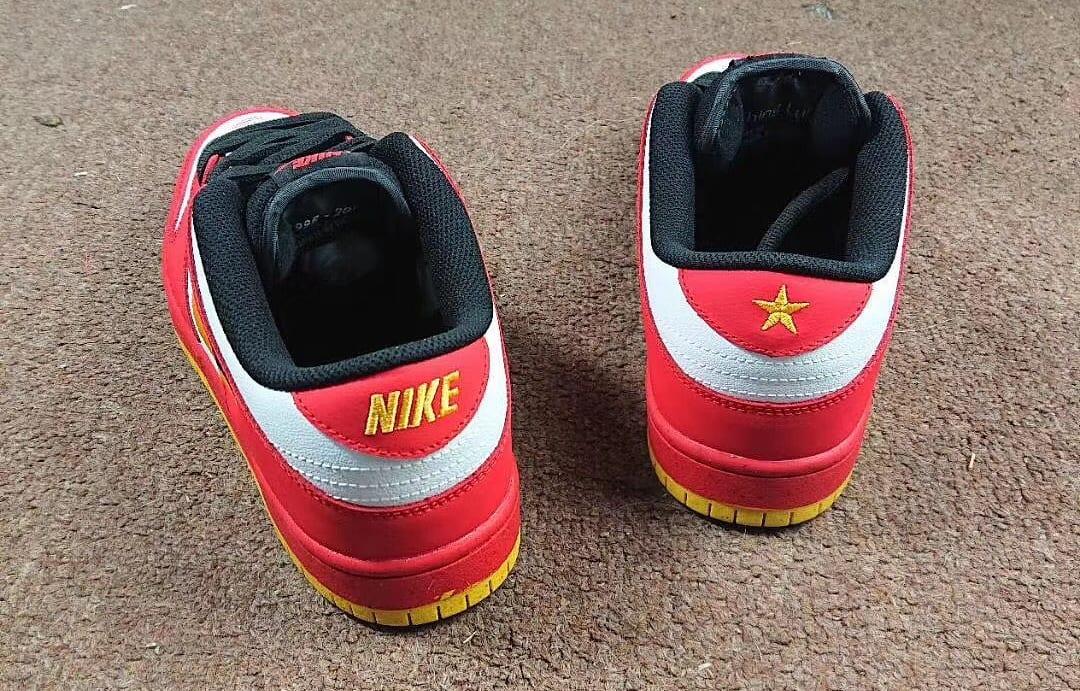 Nike SB Dunk Low 'Vietnam' Heel