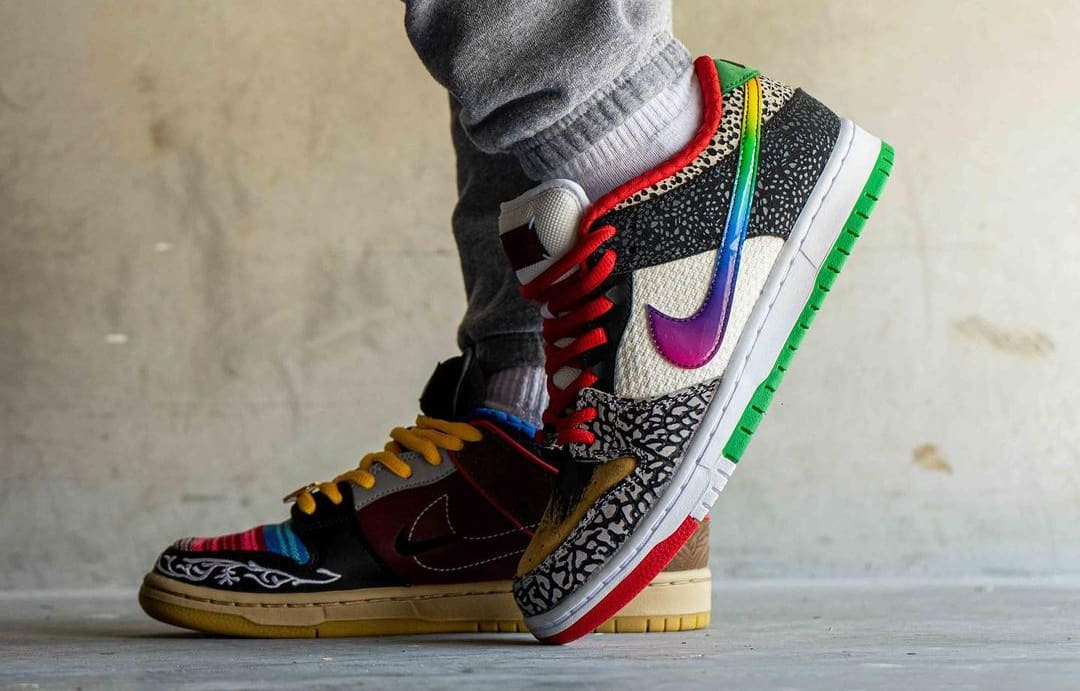 Nike SB Dunk Low 'What The P-Rod' CZ2239-600 Side