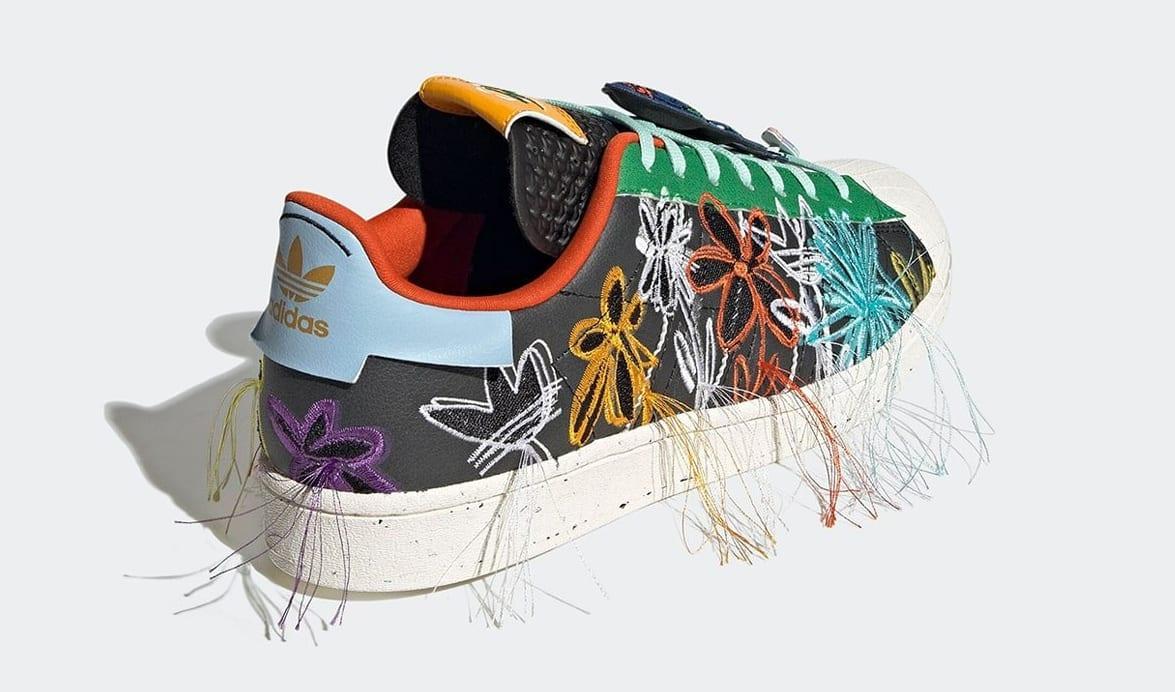 Sean Wotherspoon x Adidas Superstar 'Super Earth' Black GX3823 Heel
