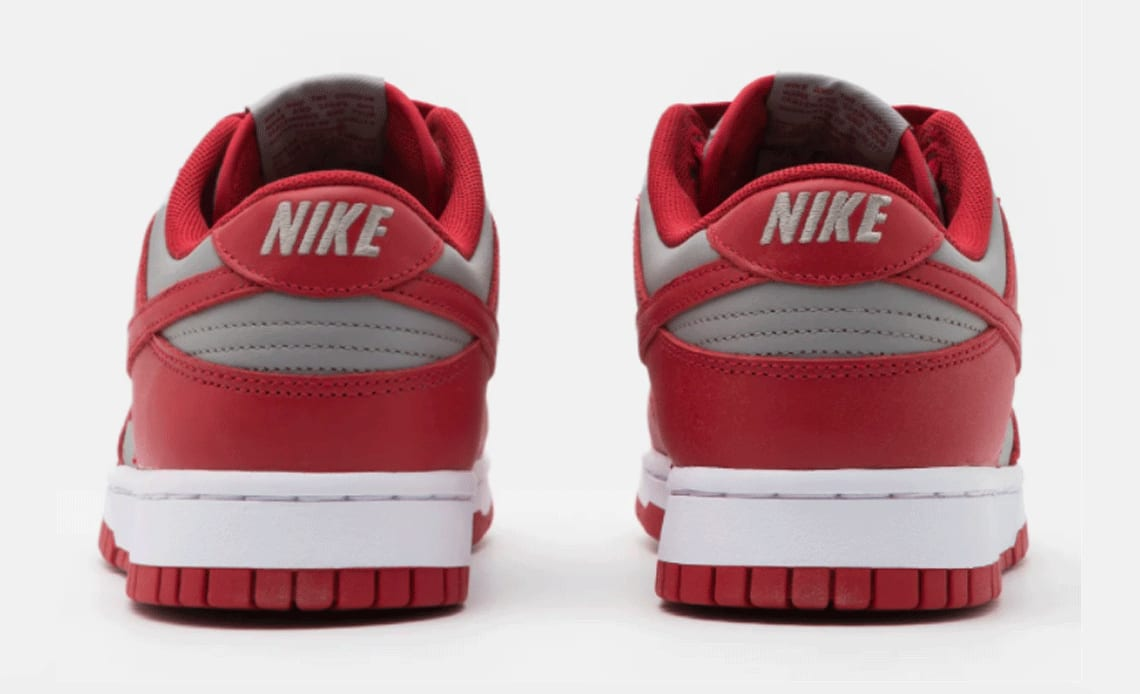 Nike Dunk Low 'UNLV' 2021 DD1391-002 Heel