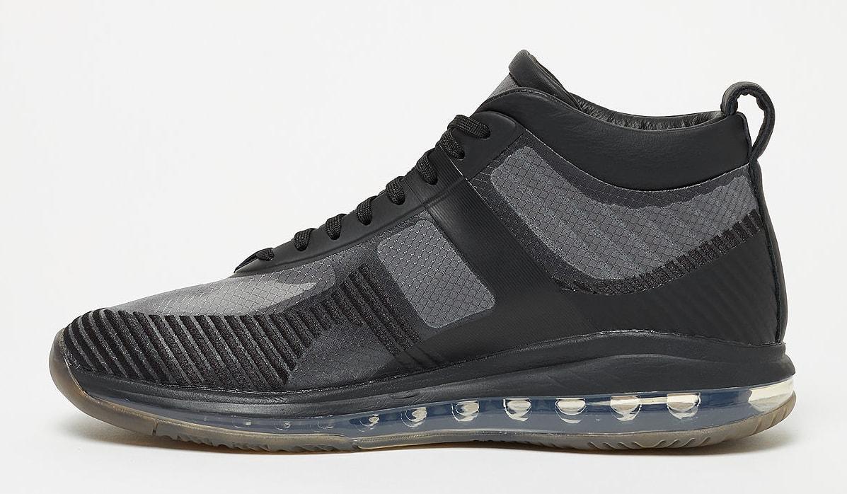 John Elliott x Nike LeBron Icon QS 'Black/Gum' AQ0114-001 (Medial)