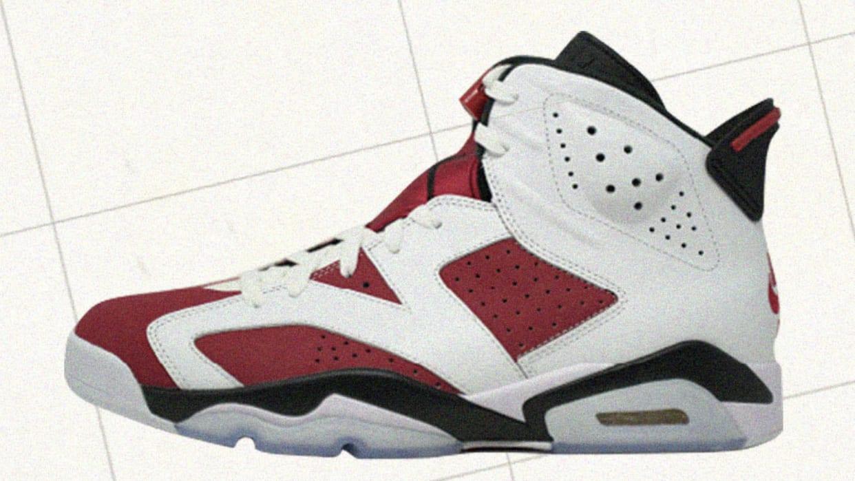 Carmine Air Jordan 6 2021 Release Date CT8529-106 Profile