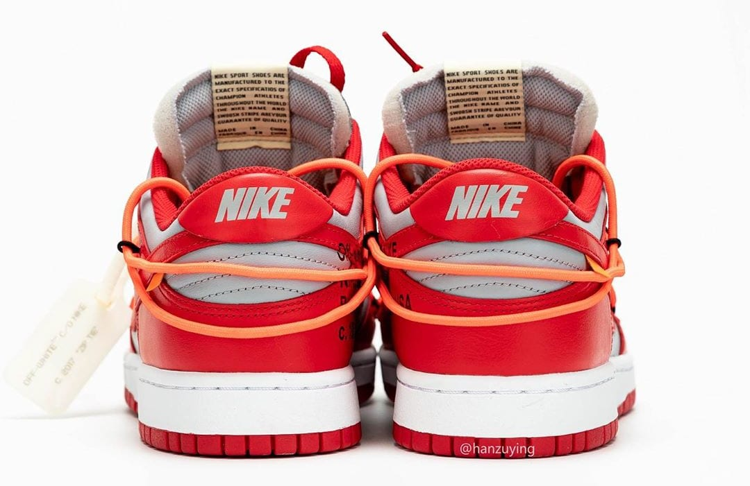 off-white-nike-dunk-low-university-red-heel