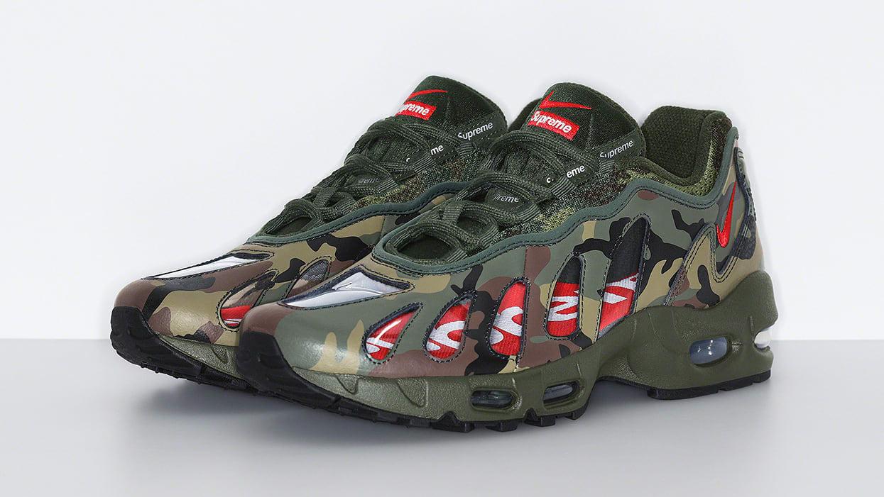 Supreme x Nike Air Max 96 'Camo' Pair
