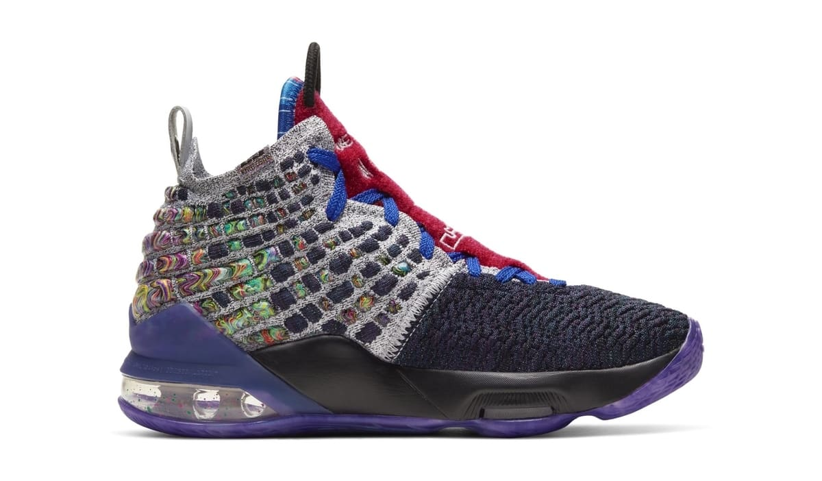 Nike LeBron 17 GS 'What The' Medial