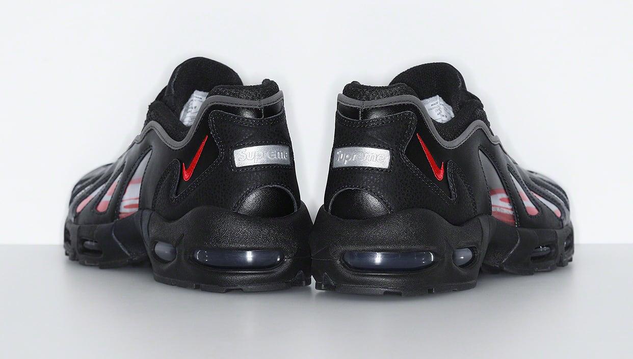 Supreme x Nike Air Max 96 'Black' Lateral