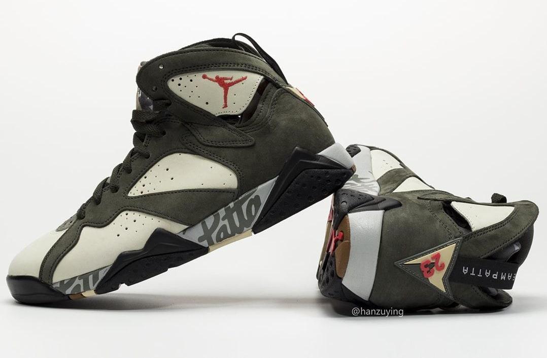 Patta x Air Jordan 7 AT3375-100 (Pair 3)