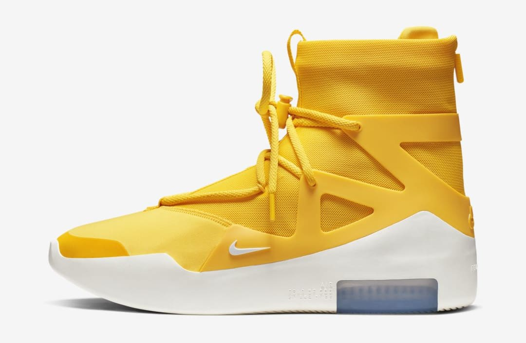 Nike Air Fear of God 1 'Amarillo' (Lateral)