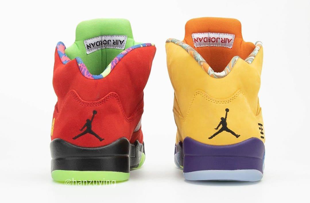 Air Jordan 5 Retro 'What The' CZ5725-700 Heel