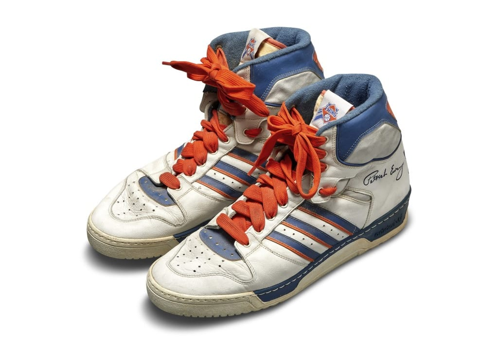 Adidas Conductor Ewing Game Worn Sneakers Sotheby's