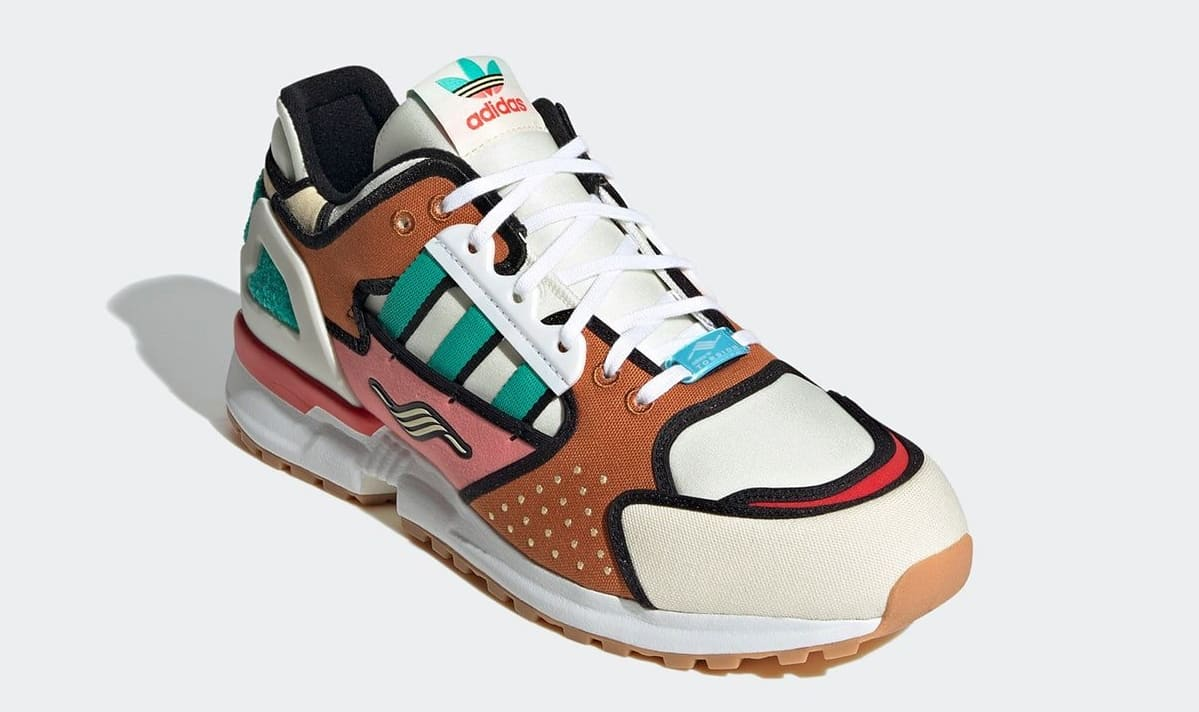 The Simpsons x Adidas ZX 10000 'Krusty Burger' H05783 Front