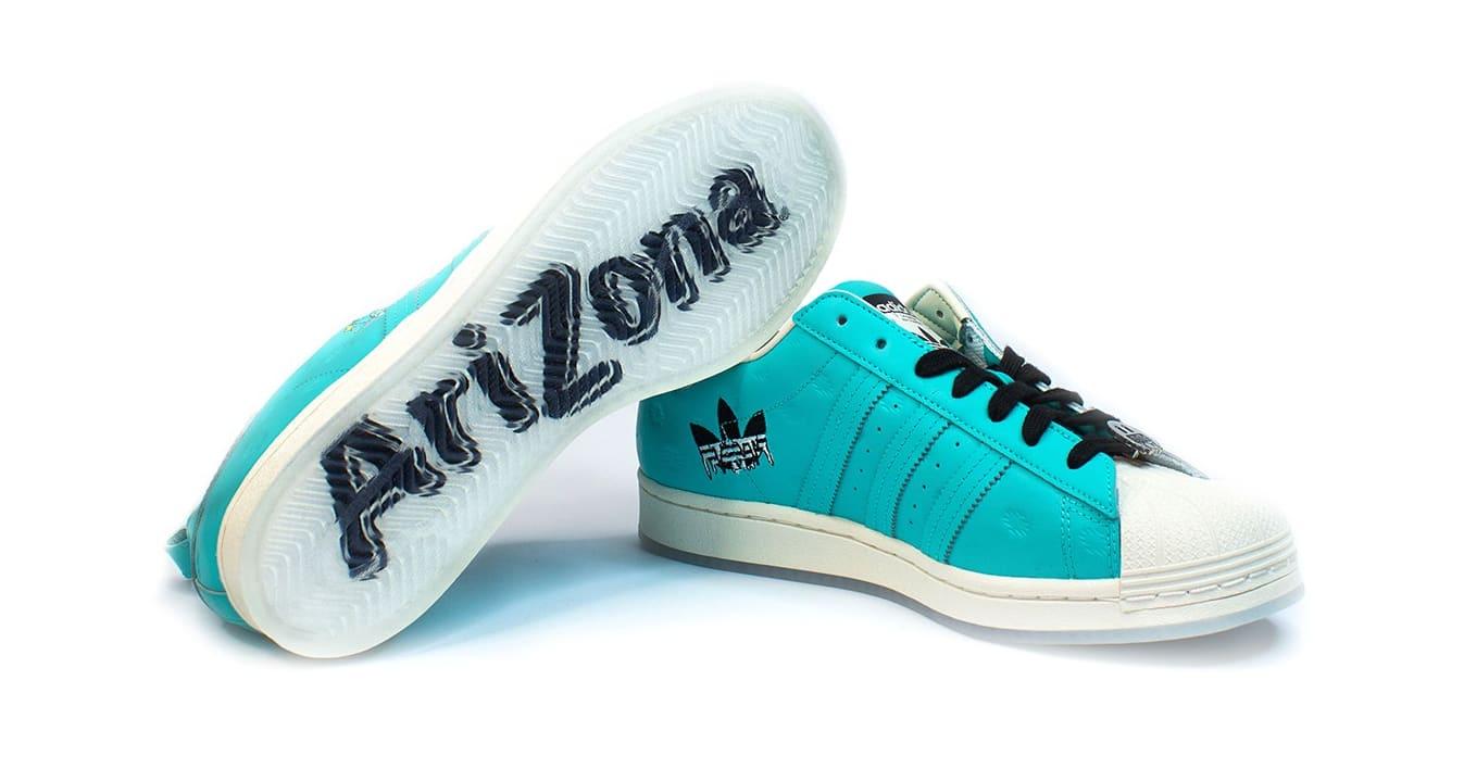 Arizona Iced Tea x Adidas Superstar Pair